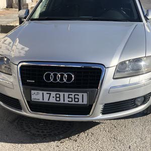 Audi A8 2007 For sale - Silver color