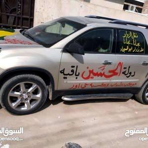 جي ام سي اكاديا 8 راكب رقم بغداد صدامي بحاله جيده للبيع او المراوس