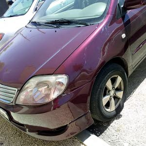 Toyota Corolla 2004 For sale - Maroon color