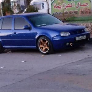 Blue Volkswagen Golf 2001 for sale