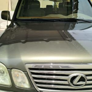 Green Lexus LX 2006 for sale