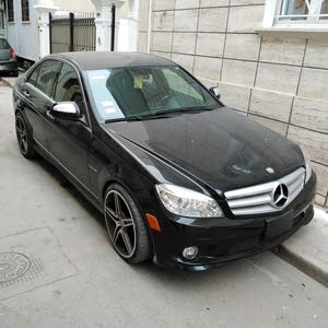 Black Mercedes Benz C 300 2009 for sale
