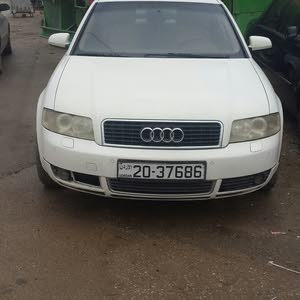 Used condition Audi A4 2003 with 1 - 9,999 km mileage