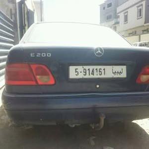 مرسيدس E200 ام العيون تبي كمبيؤ