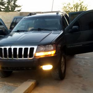 Used condition Jeep Cherokee 2004 with 50,000 - 59,999 km mileage