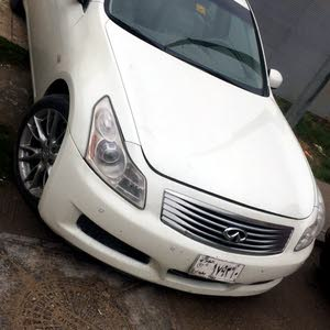 Automatic White Infiniti 2008 for sale