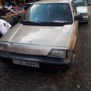 Honda Civic car for sale 1984 in Zarqa city