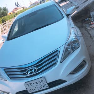 White Hyundai Azera 2014 for sale