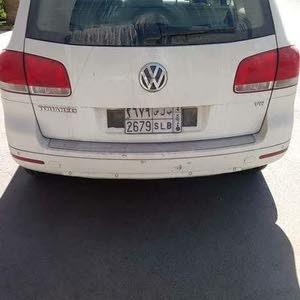 White Volkswagen Touareg 2005 for sale