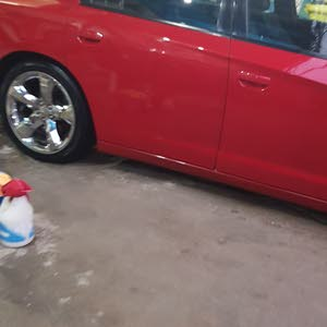 Red Dodge Charger 2012 for sale