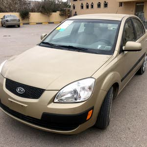 Beige Kia Rio 2007 for sale