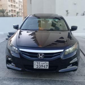 Automatic Black Honda 2012 for sale