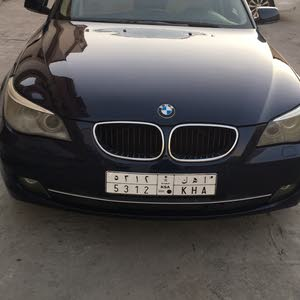 BMW 520 car for sale 2010 in Dammam city