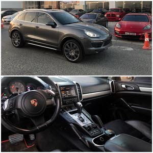 km mileage Porsche Cayenne for sale