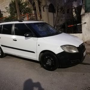 White Skoda Fabia 2009 for sale
