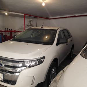 White Ford Edge 2013 for sale