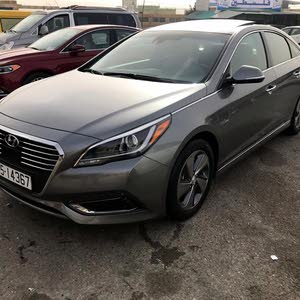 Hyundai Sonata 2017 For sale - Grey color