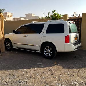Beige Infiniti QX56 2005 for sale