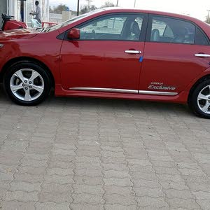 Toyota Corolla 2011 For sale - Red color