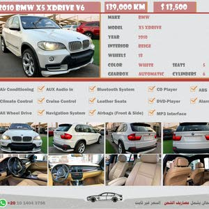 2010 BMW X5 XDrive V6