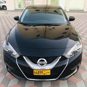 Black Nissan Maxima 2016 for sale