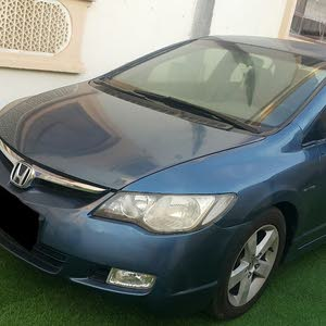 Used condition Honda Civic 2006 with +200,000 km mileage
