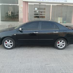 For sale 2006 Black Corolla
