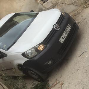 سيارة جولف كادي موديل 2013 فحصها 4 جيد من الحرة جديد استخدام 3 اشهر