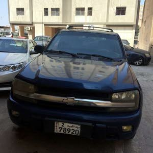 Blue Chevrolet TrailBlazer 2005 for sale