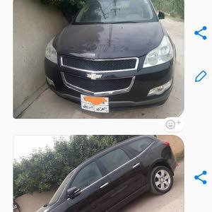 Black Chevrolet Traverse 2012 for sale