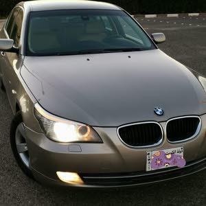 BMW 520 iبحالة ممتازة صبغ وكالة