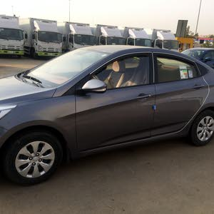 50,000 - 59,999 km Hyundai Accent 2017 for sale