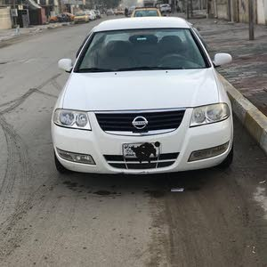 White Nissan Sunny 2009 for sale