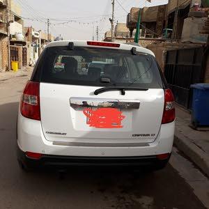 White Chevrolet Captiva 2012 for sale