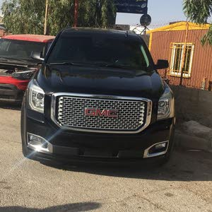 Automatic Black GMC 2015 for sale