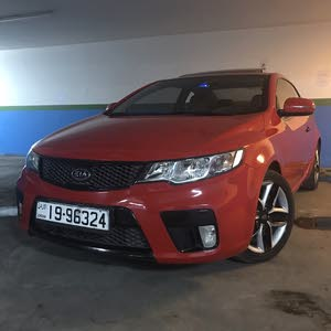 Red Kia Koup 2011 for sale