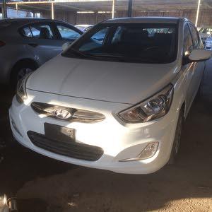 White Hyundai Accent 2016 for sale