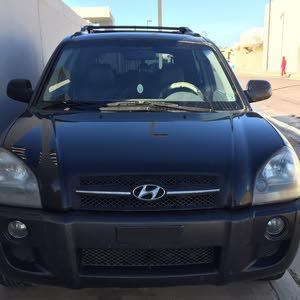 Black Hyundai Tucson 2005 for sale