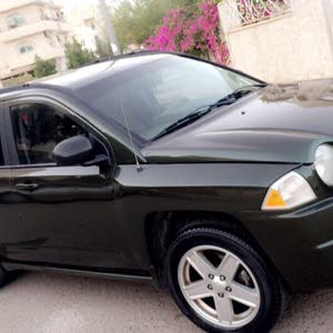 Automatic Green Jeep 2007 for sale