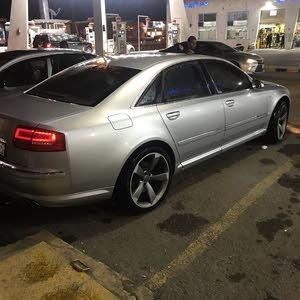 Audi S8 2007 For sale - Silver color