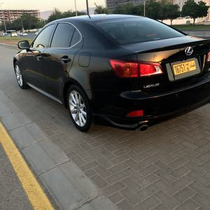 Black Lexus IS 2010 for sale