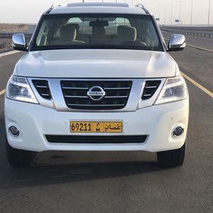 Silver Nissan Patrol 2014 for sale