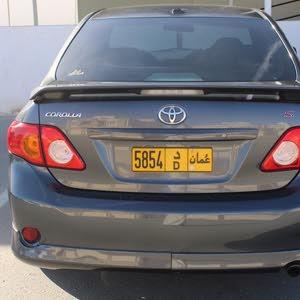For sale 2010 White Corolla