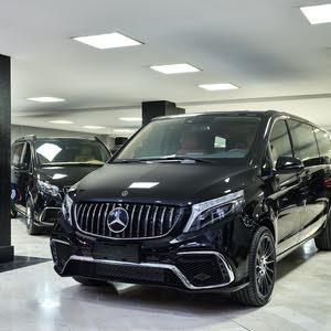 Mercedes V line design - luxury brand new