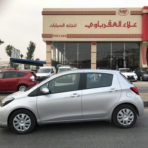 Toyota Yaris 2015 For sale - Silver color