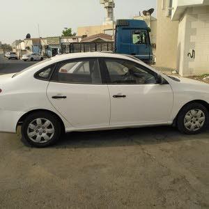 White Hyundai Elantra 2007 for sale