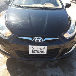 Hyundai Accent 2013 for sale in Tripoli