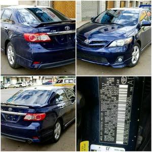 للبيع كورولا امريكي S رقم واحد موديل 2012