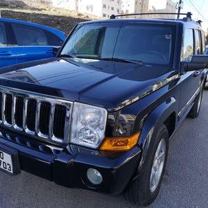 Black Jeep Commander 2007 for sale