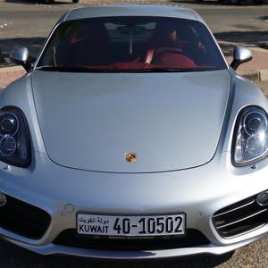 Silver Porsche Cayman 2016 for sale